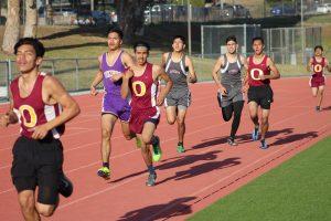 Boys Track Vs Ontario and Mountain View