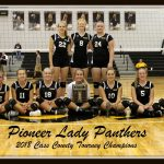 VOLLEYBALL: Panthers win county; Pioneer sweeps Logan, Cass to claim 5th straight title