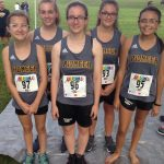 2018 Pioneer Lady Panther Cross Country Team