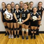 2018 Pioneer Lady Panther Seventh Grade Volleyball Team