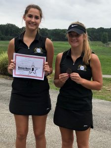 Anna Parsley Earns HNAC Girls' Golf Honorable Mention and Macie Moon Makes HNAC Girls' Golf All-Conference Team
