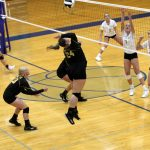 Varsity Volleyball loses tough conference match to North Judson