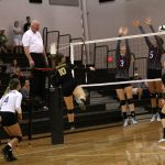 Lady Panther Volleyball pushes past a tought Winamac team