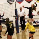 Lady Panthers defeat New Haven in Pool Play @ Leo