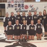 Pioneer Jr. High Volleyball Sweeps Cass County Tourney