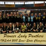 Pioneer Lady Panthers - 2018 IHSAA Volleyball Class A Semi-State Champions