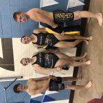 Boys Varsity Swimming falls to Manchester 69 – 66