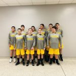 Boys 8th Grade Junior High Basketball beats Logansport (red) Junior 32 – 21