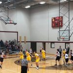 Pioneer 8th Grade Boys Basketball beats the Winamac Warriors