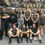PHS T&F Competes at Lambert Fieldhouse