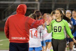 El Cajon Valley Vs. O'Farrell High School Girls Soccer Match