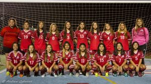 Girls Varsity Team and individual Shots