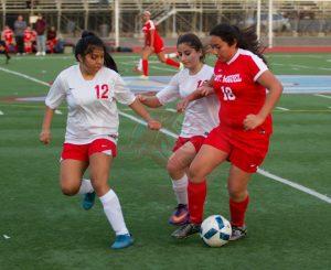 El Cajon Valley Vs. Mt. Miguel High School Girls JV Soccer Match