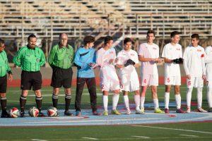 Boys Soccer CIF Semifinal Playoff Game