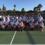 El Cajon Valley High School Boys Varsity Tennis beat Mar Vista High School 14-4