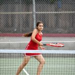 El Cajon Valley High School Girls Varsity Tennis beat Holtville High School 17-1