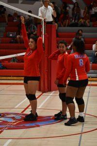 El Cajon Valley HS Vs. Mount Miguel HS girls varsity volleyball