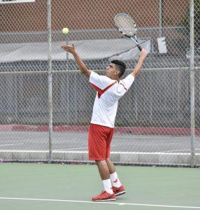 Boys Varsity Tennis vs. Monte Vista