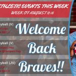 Athletics Events for the Week (August 12-16, 2019)