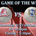 Game of the Week – Girls Volleyball v. O'Farrell @ ECV (Thursday, August 22, 2019 @ 5:30)