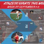 Athletic Events This Week (September 9 – 14)