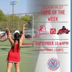 ECV Game of the Week: Lady Braves Tennis v. Mt. Miguel, Tuesday, September 10, 2019)