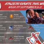 Athletic Events This Week (September 23-27)