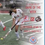 ECV Game of the Week: Lady Braves Field Hockey v. Valhalla @ Priest Field (Thursday, October 10, 2019 @ 6:30pm))