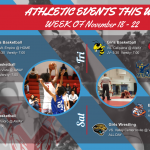 ECV Athletic Events This Week (November 18-23, 2019)