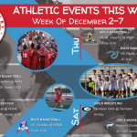 ECV Athletic Events This Week (December 2-7, 2019)