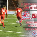 ECV Game of the Week: ECV Lady Braves Soccer v. Mt. Miguel @ ECV (Tuesday, January 14th, 6:30pm)