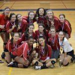 Girls Volleyball Magruder Invitational Tournament Champions!