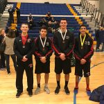 Quince Orchard High School Boys Varsity Wrestling finishes 10th place