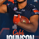 Congratulations Caleb Johnson for Signing with Auburn University