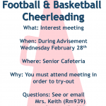 Spirit Cheerleading Information and Packet