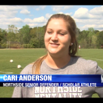 Cari Anderson – WLTZ Scholar Athlete of the Week!