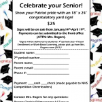 Celebrate your Senior with a Northside Yard Sign