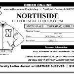 Letter Jacket Order Date & Fitting
