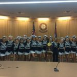 Cheer Honored by Weld County Commissioners
