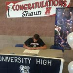 Shaun van der Torre signs with Hastings College