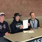 Corben Wilcox Signs National Letter of Intent