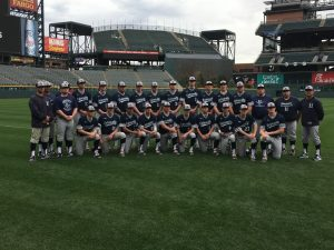Baseball Scrimmage at Coors Field