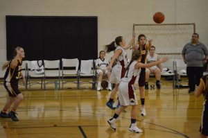Girls C-team basketball vs Brush