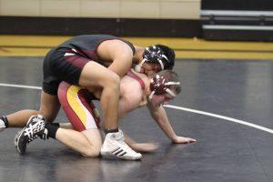 Varsity wrestling vs Wiggins