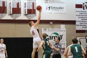 Boys Varsity basketball vs connifer
