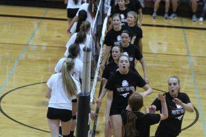 Preseason Volleyball Scrimmage Aug 18, 2017