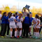 Lady Falcons win their first State Championship in School history