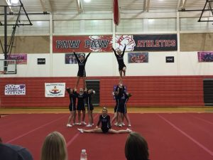 Competitive Cheer @ Paw Paw HS
