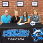 Wildcat Signs With KVCC for Volleyball