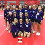 TR Cheer Places 2nd at Michigan Center